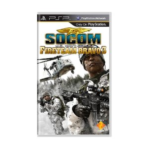 Jogo SOCOM: Fireteam Bravo 3 - PSP