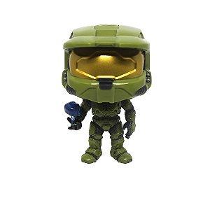 Boneco Master Chief (w/ Cortana) 07 Halo - Funko Pop! (Avaria na Pintura)