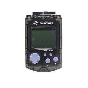 Visual Memory Unit (VMU) Preto - Dreamcast