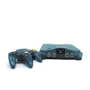 Console Nintendo 64 Ice Blue - Nintendo