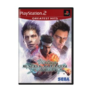 Jogo Virtua Fighter 4: Evolution - PS2