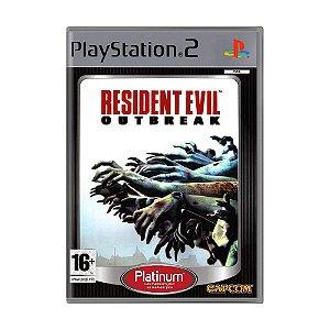 Jogo Resident Evil: Outbreak - PS2 (Europeu)