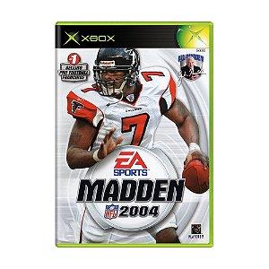 Jogo Madden NFL 2004 - Xbox