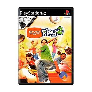 Jogo EyeToy: Play 2 - PS2
