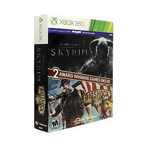 Jogo The Elder Scrolls V: Skyrim + BioShock Infinite - Xbox 360