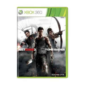 Jogo Just Cause 2 + Tomb Raider - Xbox 360