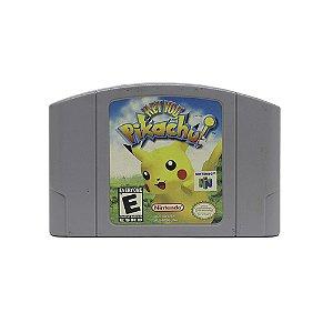 Jogo Hey You, Pikachu! - N64