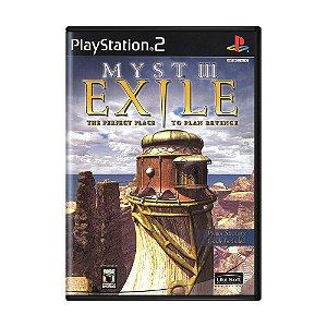 Jogo Myst III: Exile - PS2 (Lacrado)