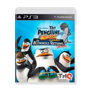 Jogo The Penguins of Madagascar: Dr. Blowhole Returns – Again! - PS3