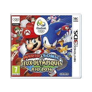 Jogo Mario & Sonic aux Jeux Olympiques de Rio 2016 - 3DS (Europeu)