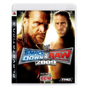 Jogo Smack Down Vs Raw 2009 - PS3