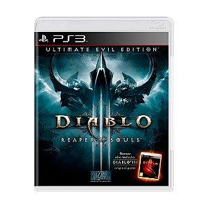 Jogo Diablo III: Reaper of Souls - PS3
