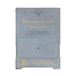 Memory Card 8MB Fujiwork - PS2
