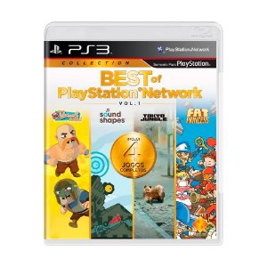 Jogo Best of PlayStation Network - PS3