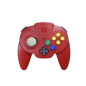 Controle Hori Pad Mini Vermelho - N64