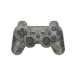 Controle Sony Dualshock 3 Camuflado - PS3