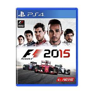 Jogo F1 2015 - PS4