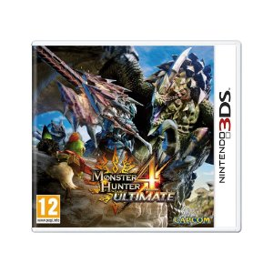 Jogo Monster Hunter 4: Ultimate - 3DS (Europeu)