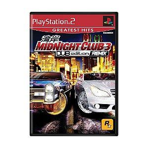 Jogo Midnight Club 3: DUB Edition Remix - PS2