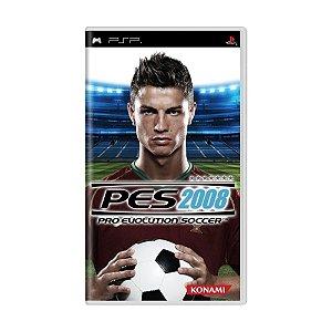 Jogo Pro Evolution Soccer 2008 - PSP