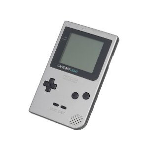 Console Game Boy Light Prata - Nintendo (Japonês)