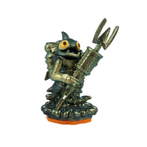 Boneco Skylanders Giants: Metallic Gill Grunt (Series 2)