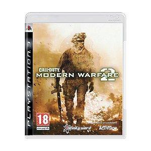 Jogo Call of Duty: Modern Warfare 2 - PS3