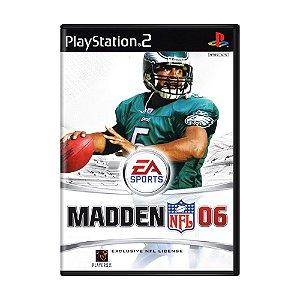 Jogo Madden NFL 06 - PS2