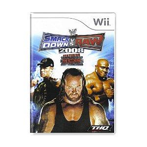 Jogo WWE SmackDown vs. Raw 2008 - Wii