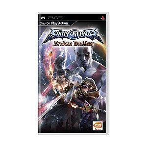 Jogo SoulCalibur: Broken Destiny - PSP