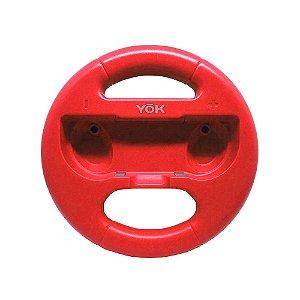 Volante Vermelho para Nintendo Switch - Yok