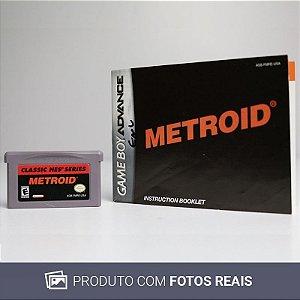 Jogo Classic NES: Metroid - GBA