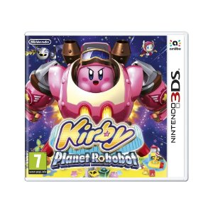 Jogo Kirby: Planet Robobot - 3DS (Europeu)