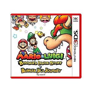 Jogo Mario & Luigi: Bowser's Inside Story + Bowser Jr.'s Journey - 3DS