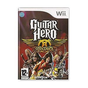 Jogo Guitar Hero: Aerosmith - Wii (Europeu)
