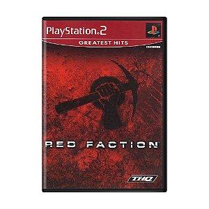 Jogo Red Faction - PS2