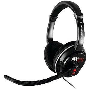 Headset com fio Turtle Beach Ear Force DPX21 - Xbox 360, Ps3, Ps4, Pc e Mac