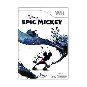 Jogo Disney Epic Mickey - Wii