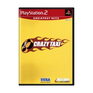 Jogo Crazy Taxi - PS2