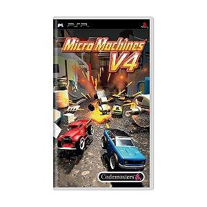 Jogo Micro Machines V4 - PSP