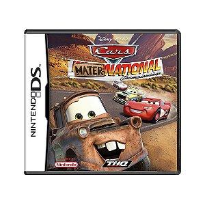Jogo Cars Mater-National Championship - DS
