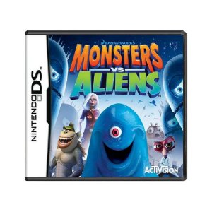 Jogo Monsters vs. Aliens - DS
