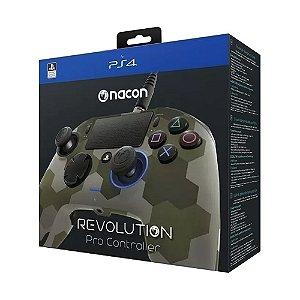 Controle Nacon Revolution Pro Controller Camuflado - PS4