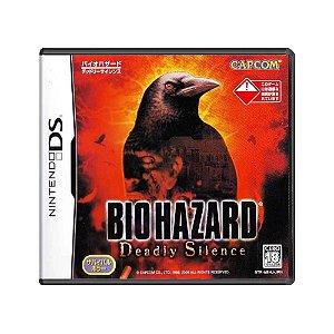Jogo BioHazard: Deadly Silence - DS (Japonês)