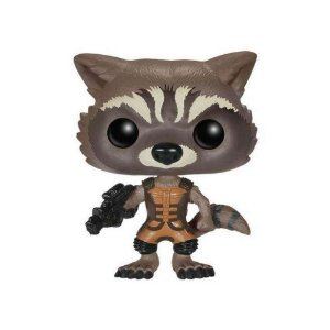 Boneco Rocket Raccoon 48 (Guardians of the Galaxy) - Funko Pop!