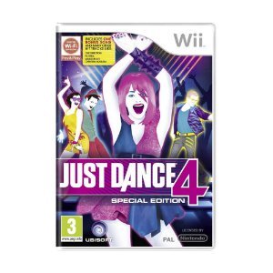 Jogo Just Dance 4 - Wii (Europeu)