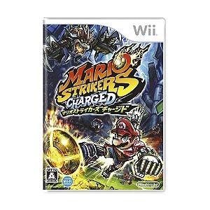 Jogo Mario Strikers Charged - Wii (Japonês)