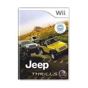 Jogo Jeep Thrills - Wii