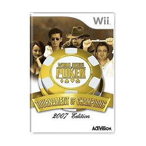 Jogo World Series of Poker: Tournament of Champions - Wii