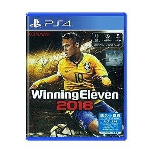 Jogo Winning Eleven 2016 - PS4